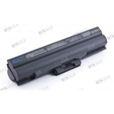 Батарея Sony VAIO VGN AW, BZ, CS, FW, NS, SR, VPCCW, BPL21, BPS21, 10,8V 6600 mAh Black (BPL21)