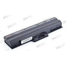 Батарея Sony VAIO VGN AW, BZ, CS, FW, NS, SR, VPCCW, BPS21, 10,8V 4800 mAh Black (BPS21)