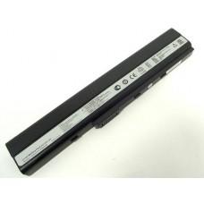 Батарея Asus A40, A42, A52, A62, B53, F85, K42, K52, K62, A32-N82, A42-K52, 10,8V 4400mAh Black (K52)