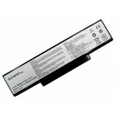Батарея Asus A72, K72, K73, N71, N73, X77 10.8V 4400mAh Black (72-3S2P-4400)