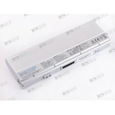 Батарея Asus U6, A32-U6, 11,1V 6600mAh Silver (U6HS)