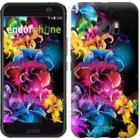 Чехол для HTC 10 Абстрактные цветы 511m-464