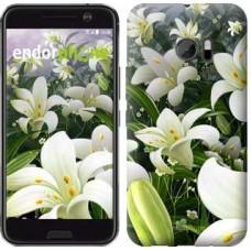 Чехол для HTC 10 Белые лилии 2686m-464