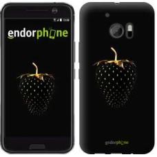 Чехол для HTC 10 Черная клубника 3585m-464