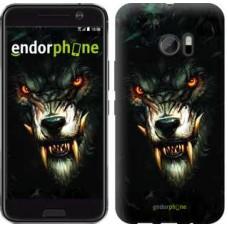 Чехол для HTC 10 Дьявольский волк 833m-464