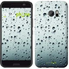 Чехол для HTC 10 Стекло в каплях 848m-464