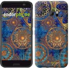 Чехол для HTC 10 Золотой узор 678m-464