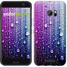 Чехол для HTC 10 Капли воды 3351m-464