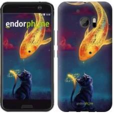Чехол для HTC 10 Кошкин сон 3017m-464
