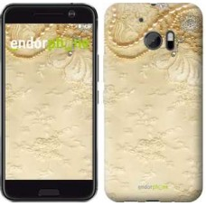 Чехол для HTC 10 Кружевной орнамент 2160m-464