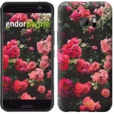 Чехол для HTC 10 Куст с розами 2729m-464