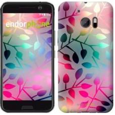 Чехол для HTC 10 Листья 2235m-464