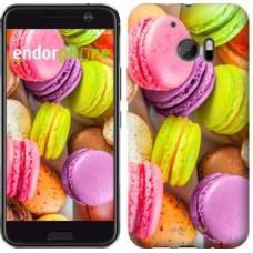 Чехол для HTC 10 Макаруны 2995m-464