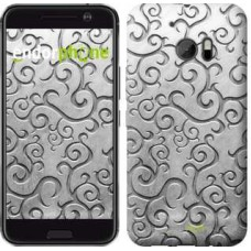 Чехол для HTC 10 Металлический узор 1015m-464