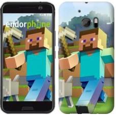 Чехол для HTC 10 Minecraft 4 2944m-464
