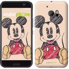 Чехол для HTC 10 Нарисованный Мики Маус 2731m-464