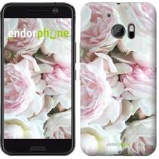 Чехол для HTC 10 Пионы v2 2706m-464