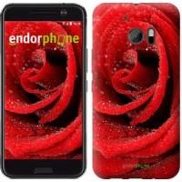 Чехол для HTC 10 Красная роза 529m-464