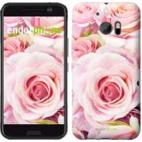 Чехол для HTC 10 Розы 525m-464
