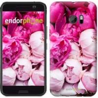 Чехол для HTC 10 Розовые пионы 2747m-464