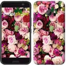 Чехол для HTC 10 Розы и пионы 2875m-464
