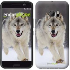 Чехол для HTC 10 Бегущий волк 826m-464