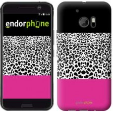 Чехол для HTC 10 Шкура леопарда v3 2723m-464