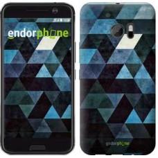 Чехол для HTC 10 Треугольники 2859m-464