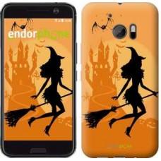Чехол для HTC 10 Ведьма на метле 1184m-464