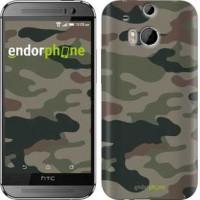 Чехол для HTC One M8 Камуфляж v3 1097c-30