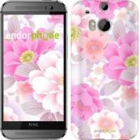 Чехол для HTC One M8 Цвет яблони 2225c-30