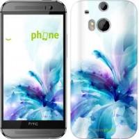 Чехол для HTC One M8 цветок 2265c-30