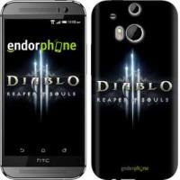 Чехол для HTC One M8 Diablo 3. Reaper of Souls 1616c-30