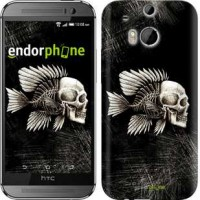 Чехол для HTC One M8 Рыбо-человек 683c-30