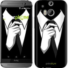 Чехол для HTC One M8 Галстук 2975c-30