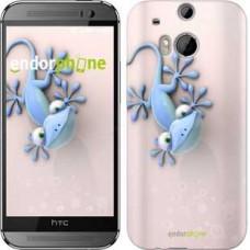 Чехол для HTC One M8 Гекончик 1094c-30