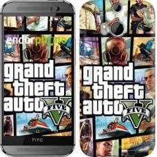 Чехол для HTC One M8 GTA 5. Collage 630c-30