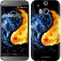 Чехол для HTC One M8 Инь-Янь 1670c-30