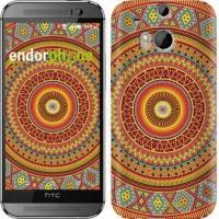 Чехол для HTC One M8 Индийский узор 2860c-30