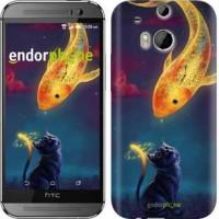 Чехол для HTC One M8 Кошкин сон 3017c-30