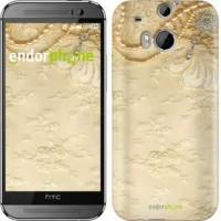 Чехол для HTC One M8 Кружевной орнамент 2160c-30