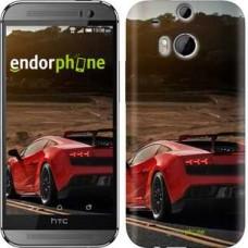 Чехол для HTC One M8 Lamborghini v2 2948c-30