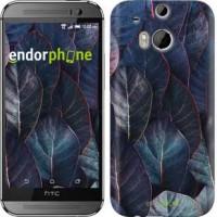 Чехол для HTC One M8 Листья v3 3328c-30