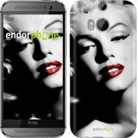 Чехол для HTC One M8 Мэрилин Монро 2370c-30