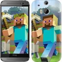 Чехол для HTC One M8 Minecraft 4 2944c-30