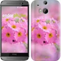 Чехол для HTC One M8 Розовая примула 508c-30
