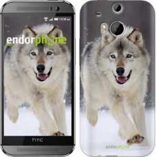 Чехол для HTC One M8 Бегущий волк 826c-30