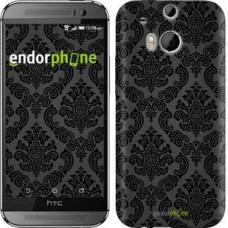 Чехол для HTC One M8 Винтажный узор 2269c-30
