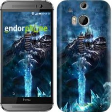 Чехол для HTC One M8 World of Warcraft. King 644c-30