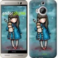 Чехол для HTC One M9 Plus Девочка с зайчиком 915u-134